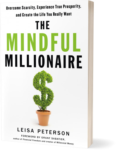 The Mindful Millionaire 3D shadow